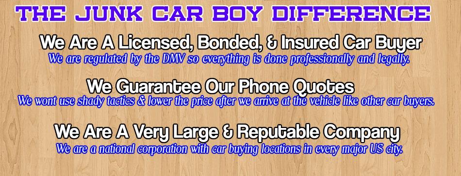 Cash For Junk Cars Castro Valley CA